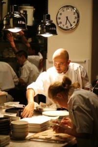 Chef Adam D'Sylva at Coda bar and restaurant