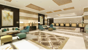 ZamZam Pullman Madinah - Artist impression of lobby