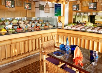 Fish Market restaurant at Radisson Blu Hotel, Dubai Deira Creek