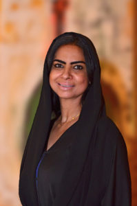 : Farida Al Raisa, director of Human Resources, Shangri-La Abu Dhabi