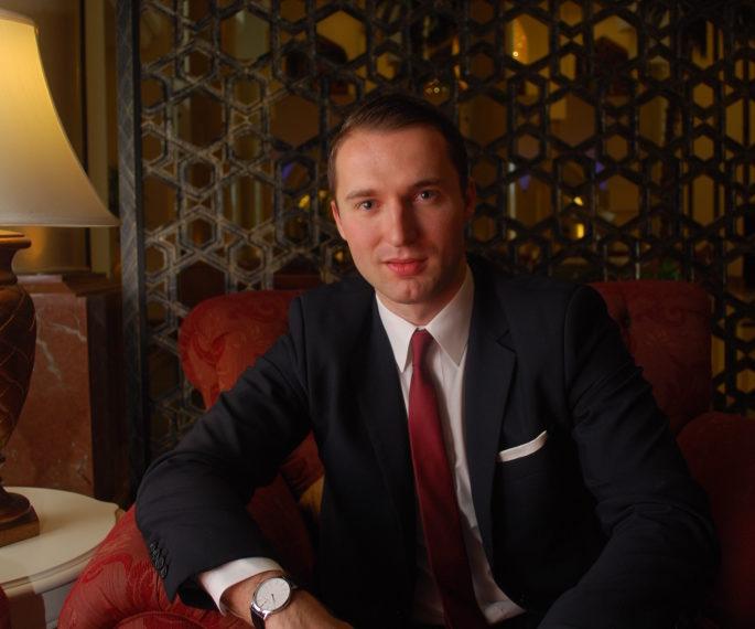 Kai Schukowski, hotel manager, Kempinski Hotel Ajman
