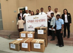 Donated items to be sent to Nepal