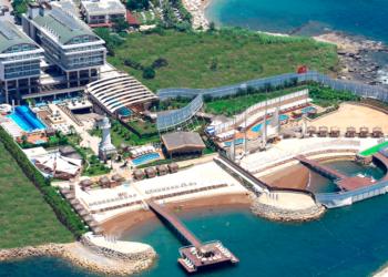 Adenya Beach Resort, Turkey, has separate beaches, pools and spa facilities for women