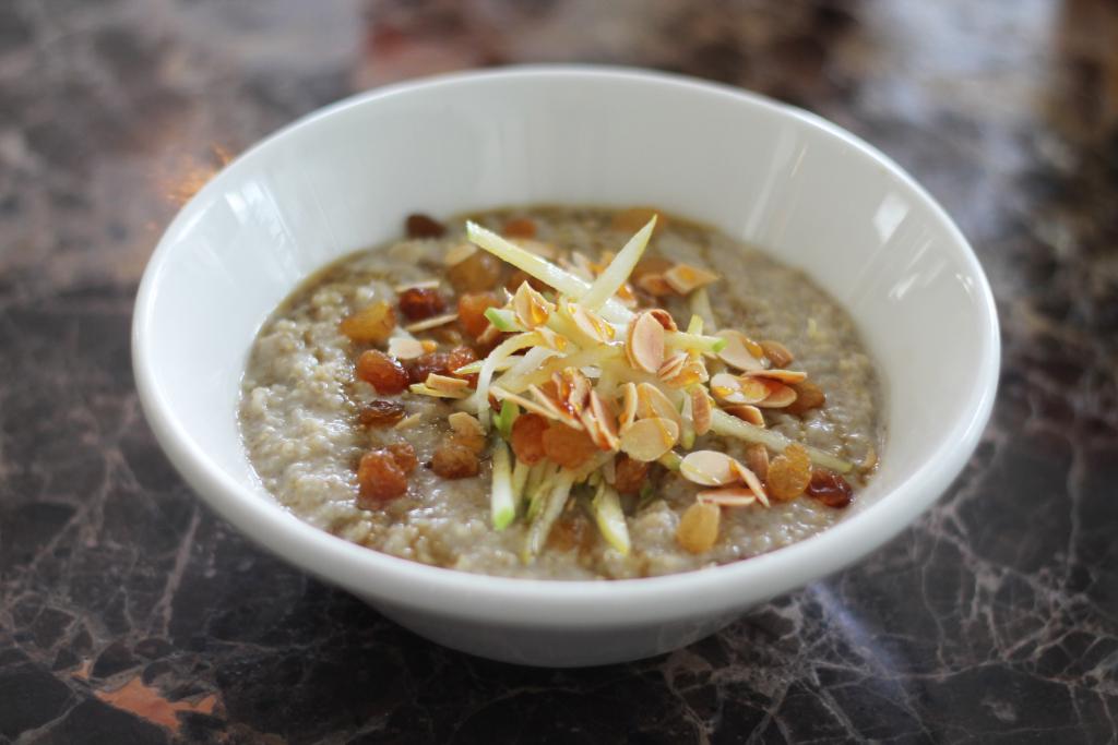 JTG_dairy and sugar free quinoa porridge