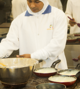 Hand made omlettes