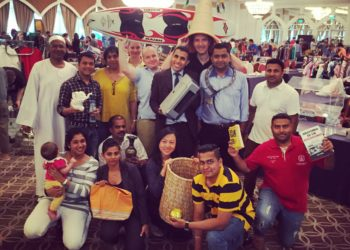 Sheraton Abu Dhabi team raises AED 23.500 for UNICEF