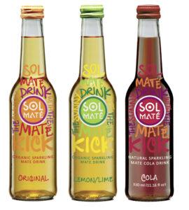 Sol Maté, all natural mate fizzy drink