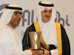 Alzaabi (left) and Khalid Saud Abuhaimed