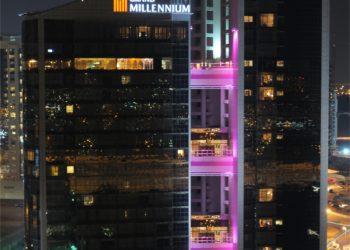 Grand Millennium Exterior Night Shot