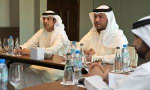 HE Faisal Al Nuaimi, GM of ATDD heads the meeting