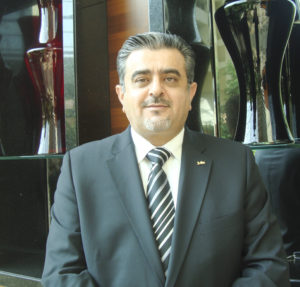 Basel Talal, general manager of Radisson Blu Hotel, Riyadh and district director of The Rezidor Hotel Group in Saudi Arabia