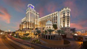 Kempinski Hotel Mall of the Emirates Evening Exterior