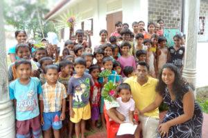 Kalamusu Kadella Children's Home in Sri Lanka