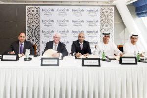 Jumeirah and Select Group sign Marina Gate agreement