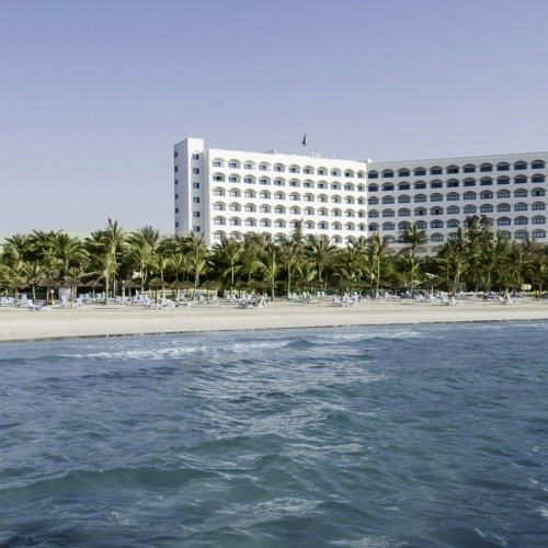 Kempinski Hotel Ajman from the Sea