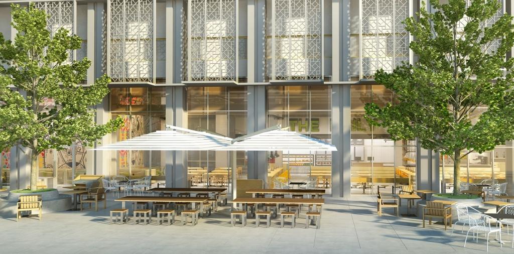 Rove Hotels - Restaurant Terrace