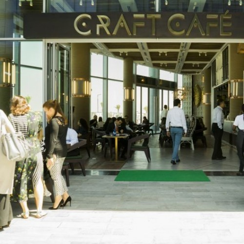 Craft caf launches in dubai design district hotel news me for Nearest hotel to dubai design district