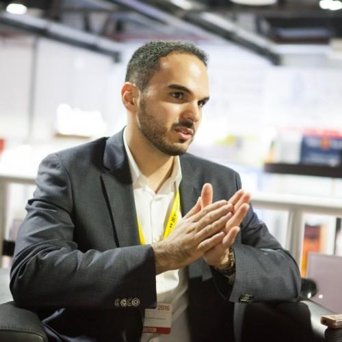 Sparrow International sales manager Fadi Hijazi