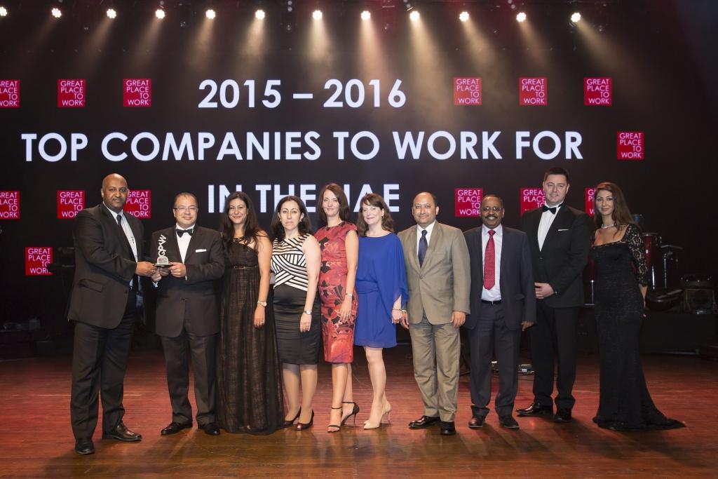 Senior Hilton Worldwide Team Members receive award