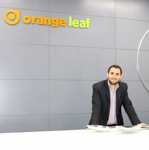 Carl Ghossoub, managing director of Two Spoons and territory developer of Orange Leaf in the Middle East