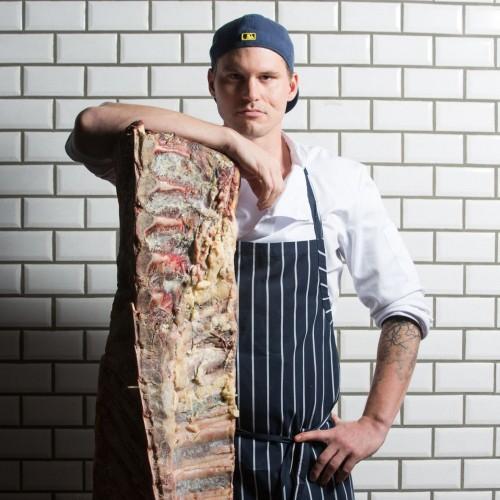 Brian Voelzing, head chef, The Hide