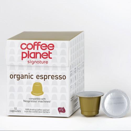 Coffee planet capsules