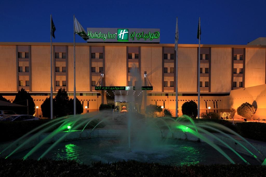 Holiday Inn Tabuk - facade night
