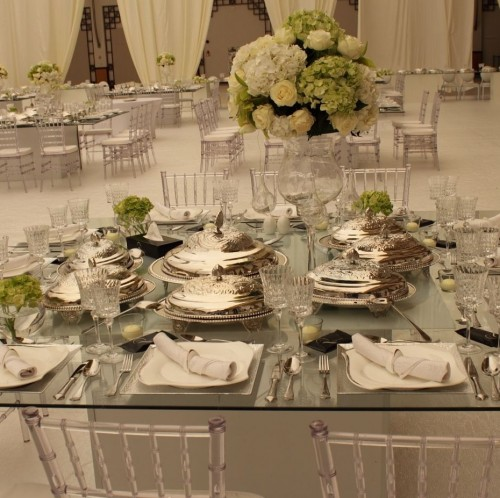 Royal Catering table set up