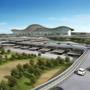 Abu Dhabi International Airport's Midfield Terminal Building