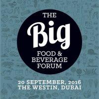 AGENDA: The Big Food & Beverage Forum 2016