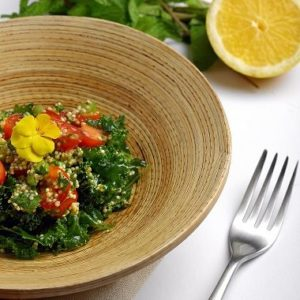 Kale Quinioa Tabbouleh by Nabih and Ghalia