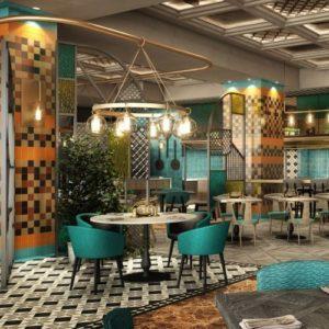 Besh Turkish Kitchen interiors