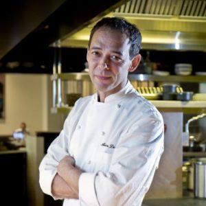Alain Devahive, executive chef, LaLuz