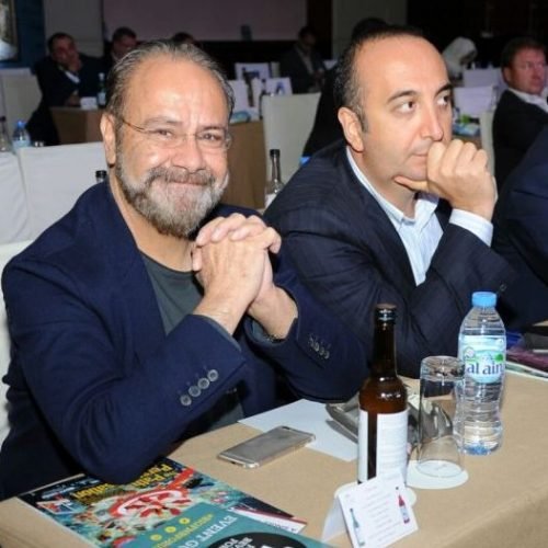 Michelin-starred chef Greg Malouf was in the audience