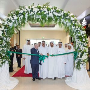 Nakheel Chairman Ali Rashid Lootah officially opened International City Pavilion