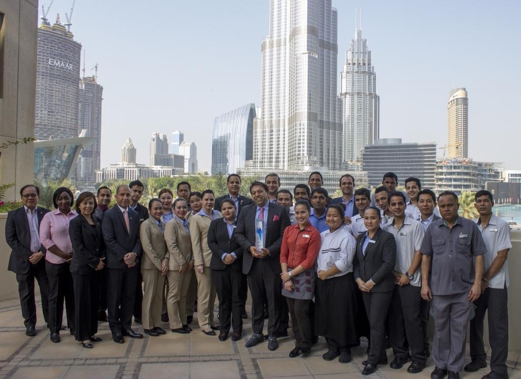 Ramada downtown dubai named as wyndham rewards 2016 top for Dubai best hotel name