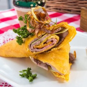 Roast beef yorkie wrap