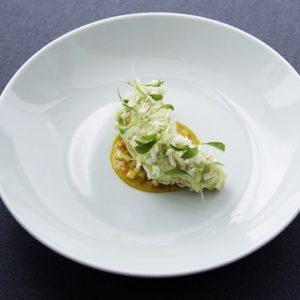Langoustine wasabi