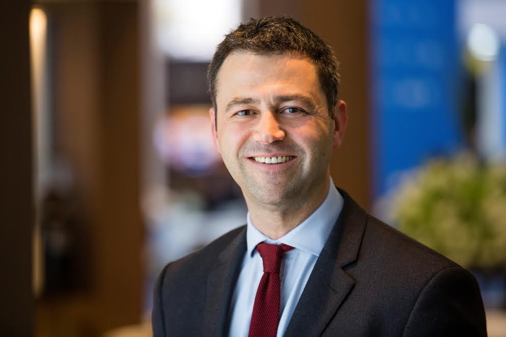 Simon Press, senior exhibition director, ATM