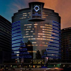 Somewhere Hotel Barsha Heights Facade