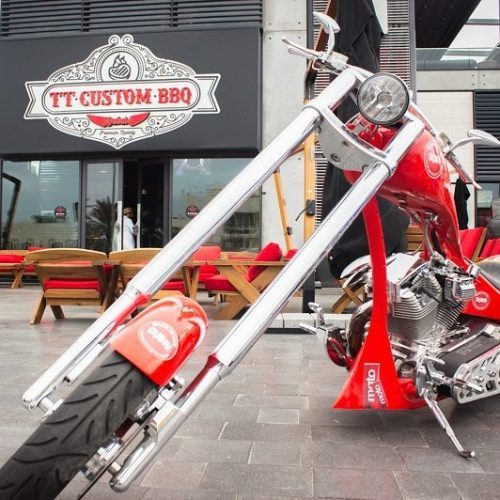 Motorcycle-themed eatery opens in Dubai's Boxpark