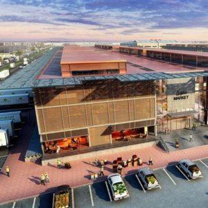 A rendering of Dubai Food Park