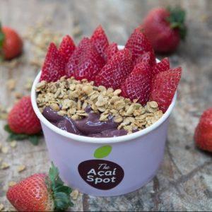 The Acai Spot strawberry bowl
