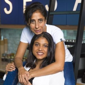 Sesame founding partners Neha Jamani and Irina Sharma