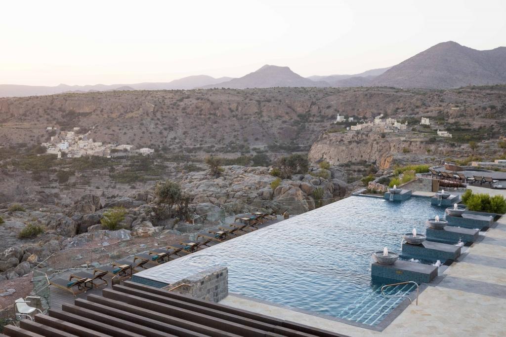 Anantara Al Jabal Al Akhdar Resort - Pool