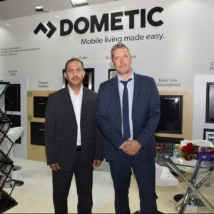 L-R Dometic team: Mohammed Muwafi and Kester Petersson