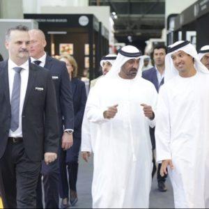 HH Sheikh Ahmed bin Saeed Al Maktoum tours the 18th edition of The Hotel Show Dubai 2017