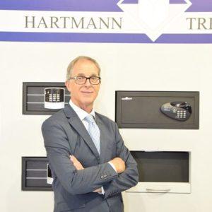 Reiner Kaltenback, general manager, Hartmann Tresore Middle East