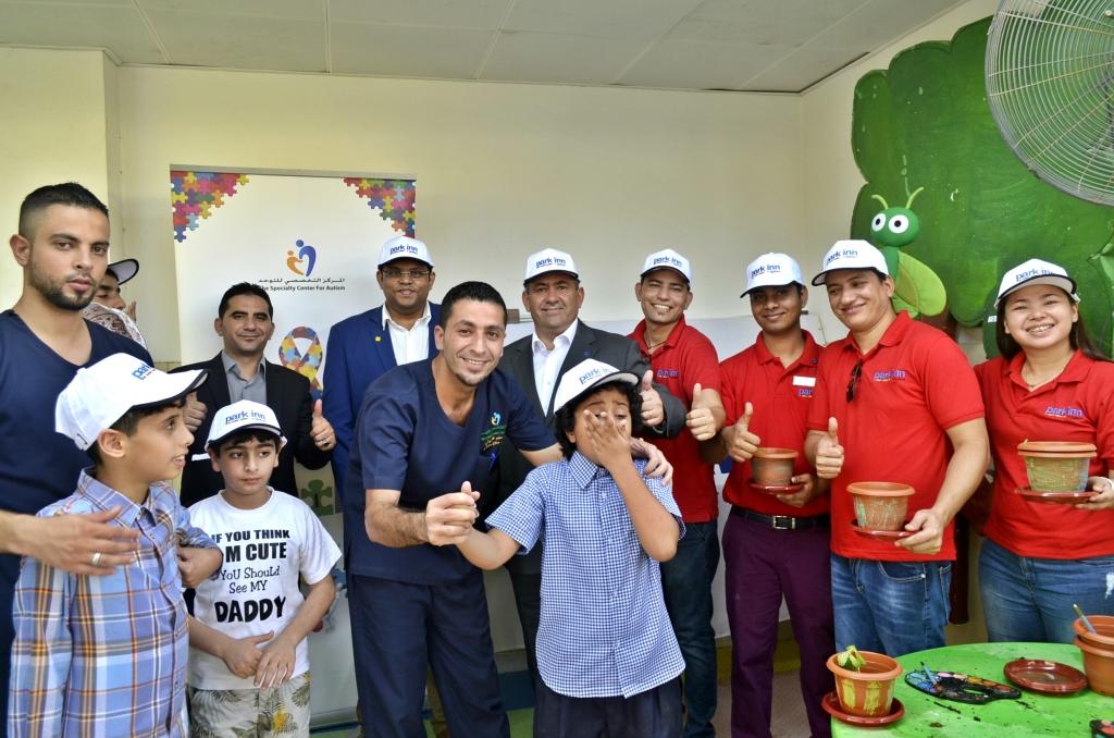 Park Inn Hotels in Oman visits Autism centre_ Visit