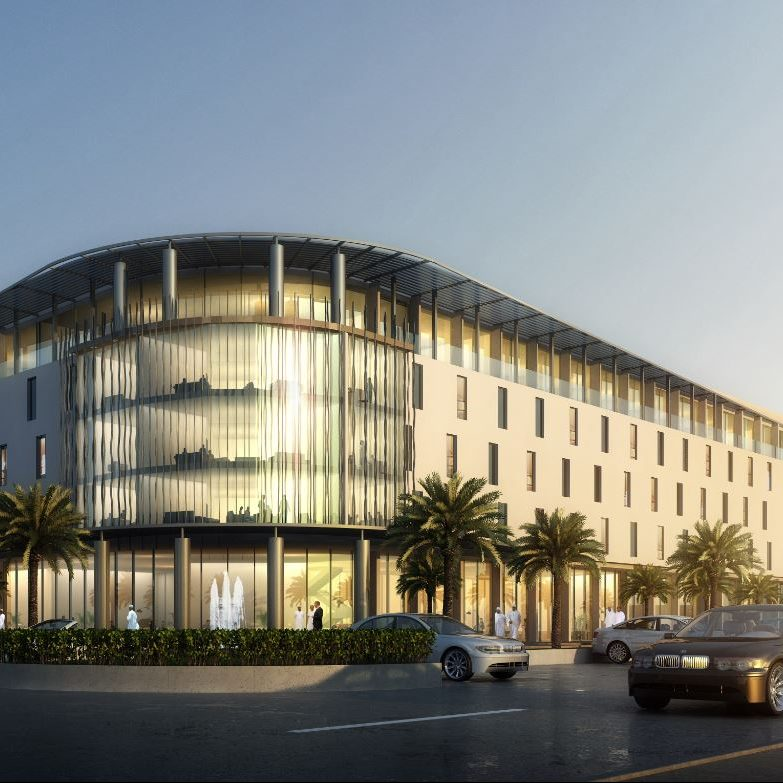 AVANI Muscat Hotel rendering